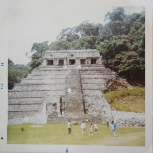 Temple of the Inscriptions, Palenque, Chiapas, Mexico (1970)