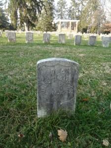 Cemetery Marker - Pvt. John Thompson