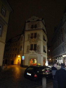 The House of the Golden Well - now a hotel - Prague