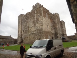 The haunted Great Tower - Dover Castle - Dover UK
