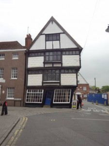 The haunted Old Kings School Shop - Canterbury