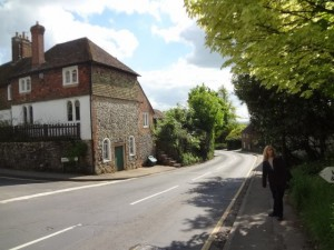 The haunted lane - Pluckley UK - the most haunted village in England